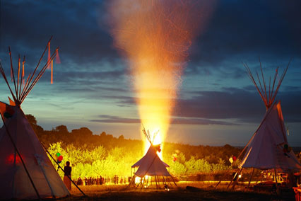 A ... & Tents and Tipis-The Ultimate Boho-Chic Accessory | style curator